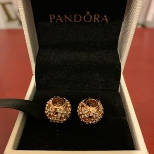 Pandora rose bloom charms